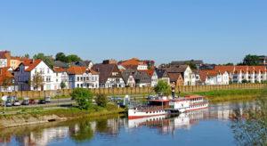 Slider Fischerstadt Minden an der Weser, Fischerstadt